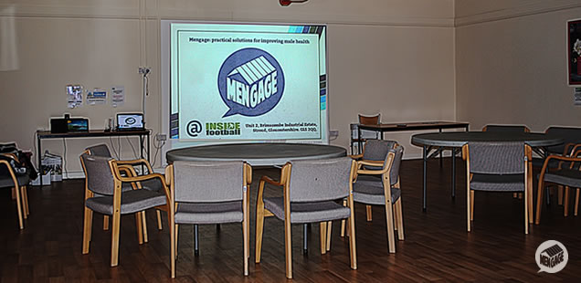 The education room at Inside Football.