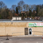 Inside Football on Brimscombe Industrial Estate